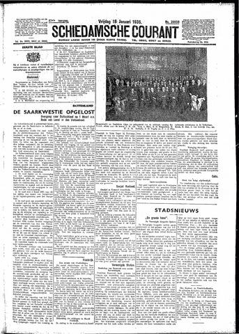 Schiedamsche Courant 1935-01-18