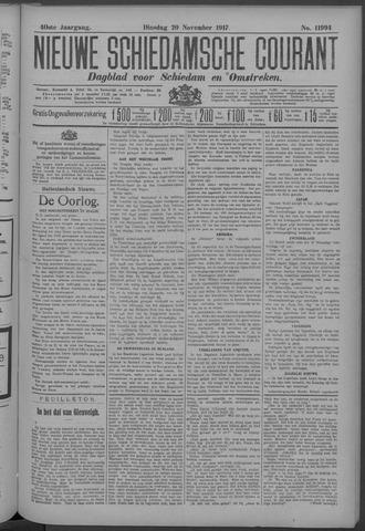 Nieuwe Schiedamsche Courant 1917-11-20