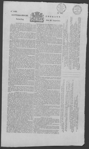 Rotterdamse Courant 1835-08-22