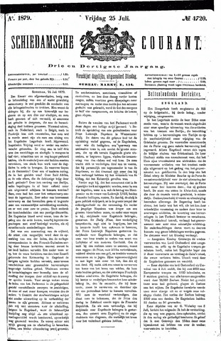 Schiedamsche Courant 1879-07-25