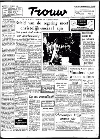 Trouw / De Rotterdammer 1959-06-20