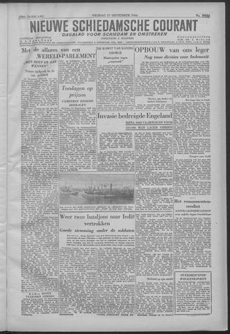 Nieuwe Schiedamsche Courant 1946-09-27