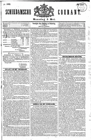 Schiedamsche Courant 1862-05-05