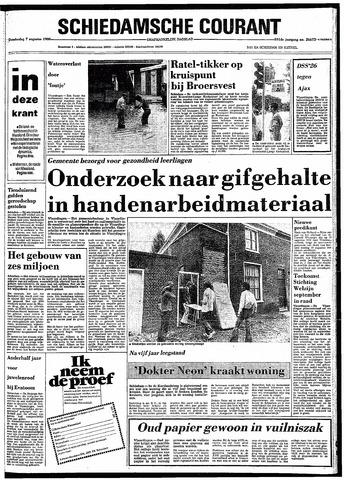 Rotterdamsch Nieuwsblad / Schiedamsche Courant / Rotterdams Dagblad / Waterweg / Algemeen Dagblad 1980-08-07