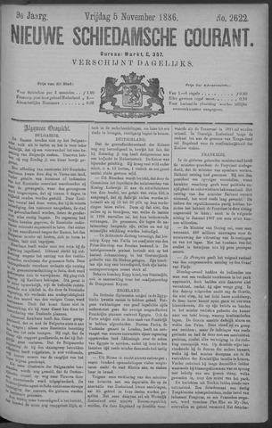 Nieuwe Schiedamsche Courant 1886-11-05