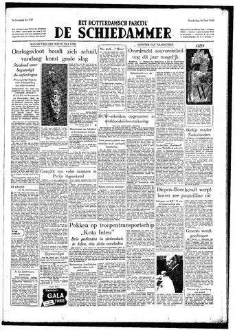 Rotterdamsch Parool / De Schiedammer 1949-06-30