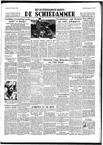 Rotterdamsch Parool / De Schiedammer 1948-11-30