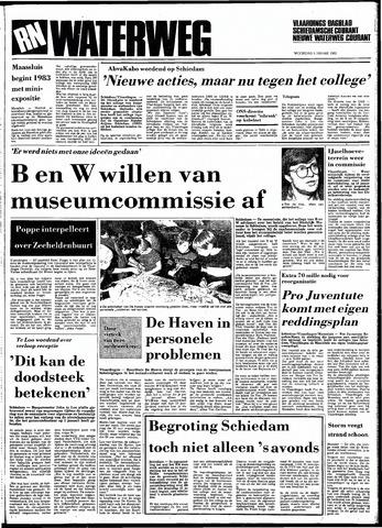 Rotterdamsch Nieuwsblad / Schiedamsche Courant / Rotterdams Dagblad / Waterweg / Algemeen Dagblad 1983-01-05