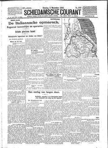 Schiedamsche Courant 1935-11-05