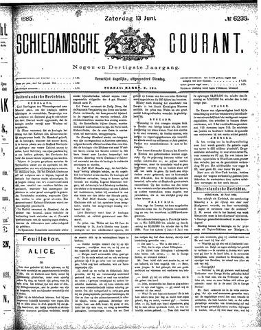 Schiedamsche Courant 1885-06-13