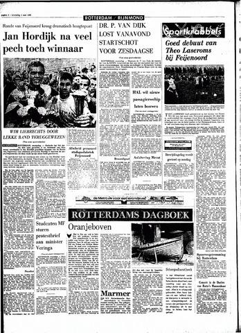 Rotterdamsch Parool / De Schiedammer 1968-05-01