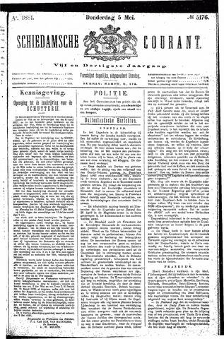 Schiedamsche Courant 1881-05-05