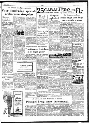 Trouw / De Rotterdammer 1962-09-11