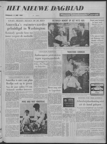 Nieuwe Schiedamsche Courant 1961-05-09