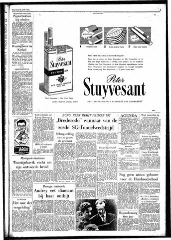 Rotterdamsch Parool / De Schiedammer 1962-04-14