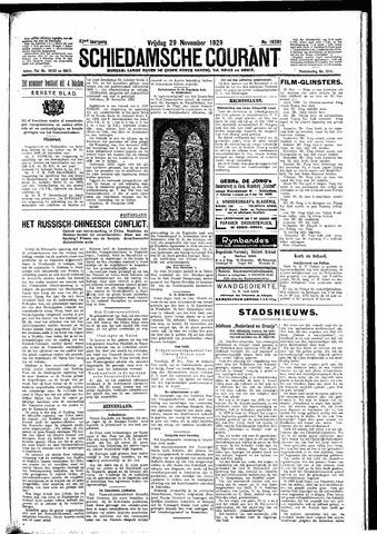 Schiedamsche Courant 1929-11-29