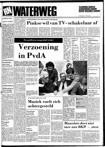 Rotterdamsch Nieuwsblad / Schiedamsche Courant / Rotterdams Dagblad / Waterweg / Algemeen Dagblad 1983-04-07