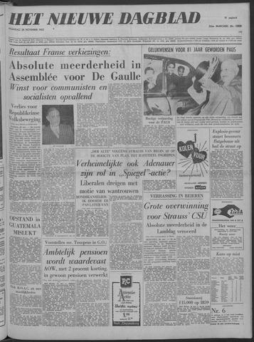 Nieuwe Schiedamsche Courant 1962-11-26