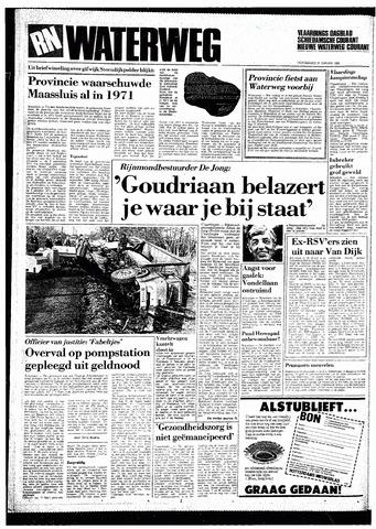 Rotterdamsch Nieuwsblad / Schiedamsche Courant / Rotterdams Dagblad / Waterweg / Algemeen Dagblad 1985-01-31