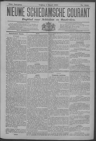 Nieuwe Schiedamsche Courant 1909-03-05