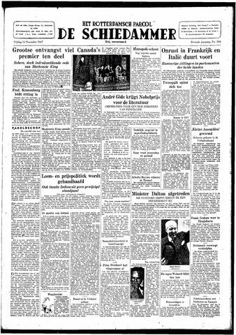 Rotterdamsch Parool / De Schiedammer 1947-11-14