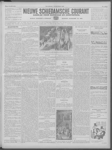 Nieuwe Schiedamsche Courant 1933-08-07
