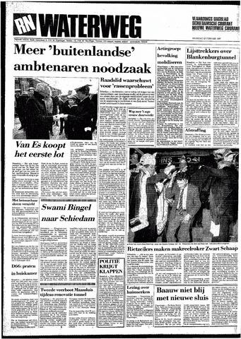 Rotterdamsch Nieuwsblad / Schiedamsche Courant / Rotterdams Dagblad / Waterweg / Algemeen Dagblad 1987-02-23