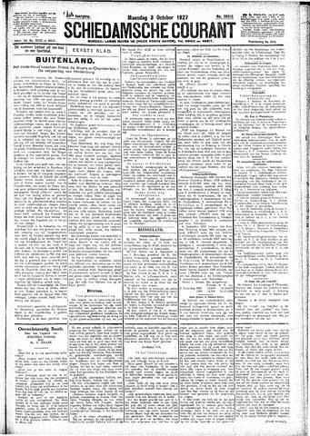 Schiedamsche Courant 1927-10-03