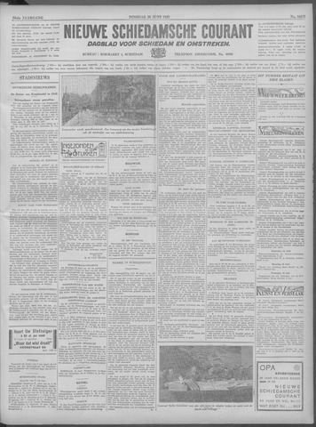 Nieuwe Schiedamsche Courant 1933-06-20