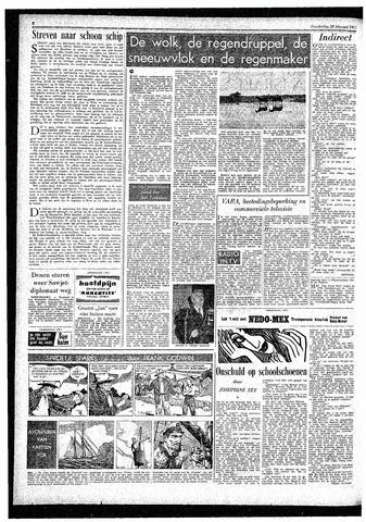 Rotterdamsch Parool / De Schiedammer 1957-02-28