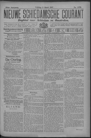 Nieuwe Schiedamsche Courant 1917-03-09