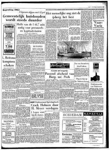 Rotterdamsch Parool / De Schiedammer 1964-09-30
