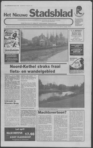 Het Nieuwe Stadsblad 1981-02-11