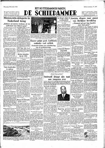 Rotterdamsch Parool / De Schiedammer 1948-12-08