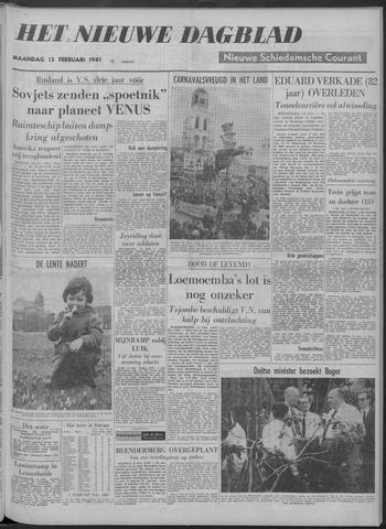 Nieuwe Schiedamsche Courant 1961-02-13