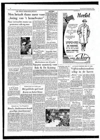 Rotterdamsch Parool / De Schiedammer 1955-09-29