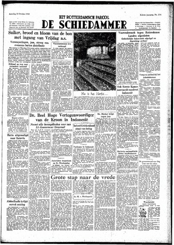 Rotterdamsch Parool / De Schiedammer 1948-10-30