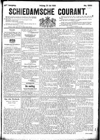 Schiedamsche Courant 1916-07-21