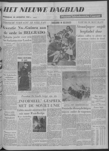 Nieuwe Schiedamsche Courant 1961-08-30