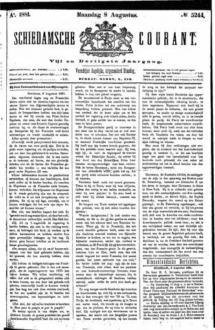 Schiedamsche Courant 1881-08-08