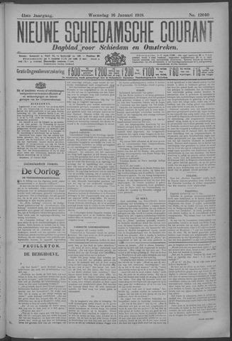 Nieuwe Schiedamsche Courant 1918-01-16