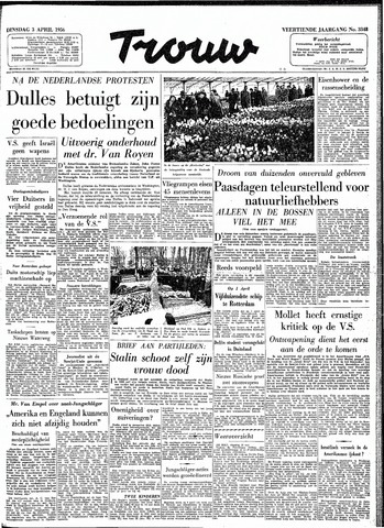 Trouw / De Rotterdammer 1956-04-03