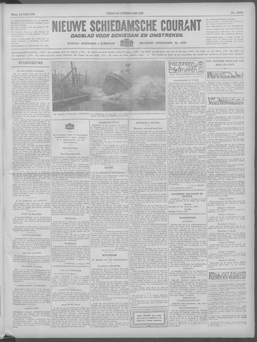 Nieuwe Schiedamsche Courant 1933-02-03