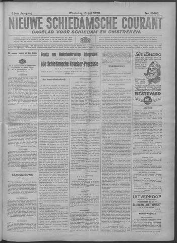 Nieuwe Schiedamsche Courant 1929-07-10