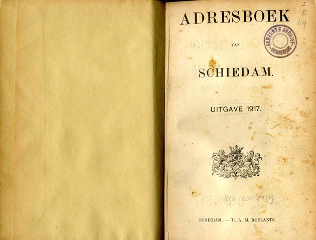 Adresboeken 1917-01-01