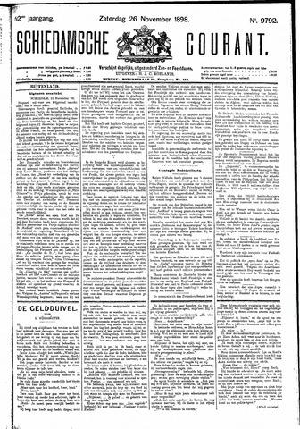 Schiedamsche Courant 1898-11-26
