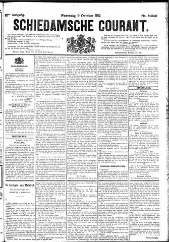 Schiedamsche Courant 1912-10-09