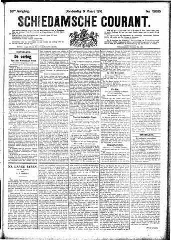 Schiedamsche Courant 1916-03-09