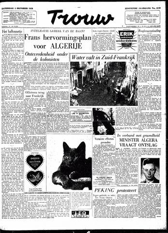 Trouw / De Rotterdammer 1958-10-04
