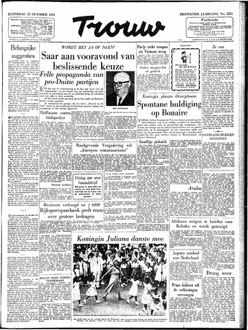 Trouw / De Rotterdammer 1955-10-22